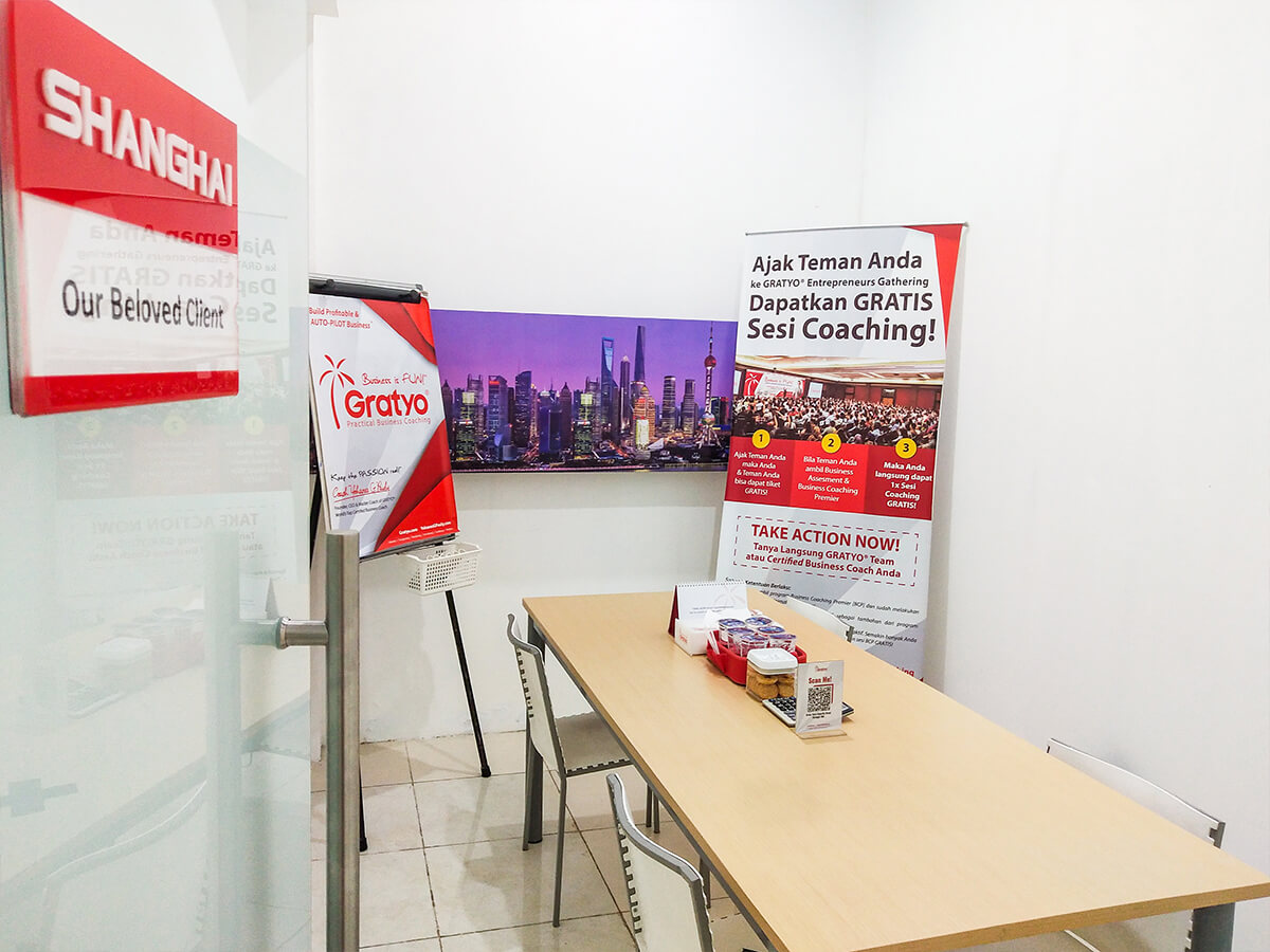 Sewa Coworking Space di Alam Sutera - Shanghai Room - G-district
