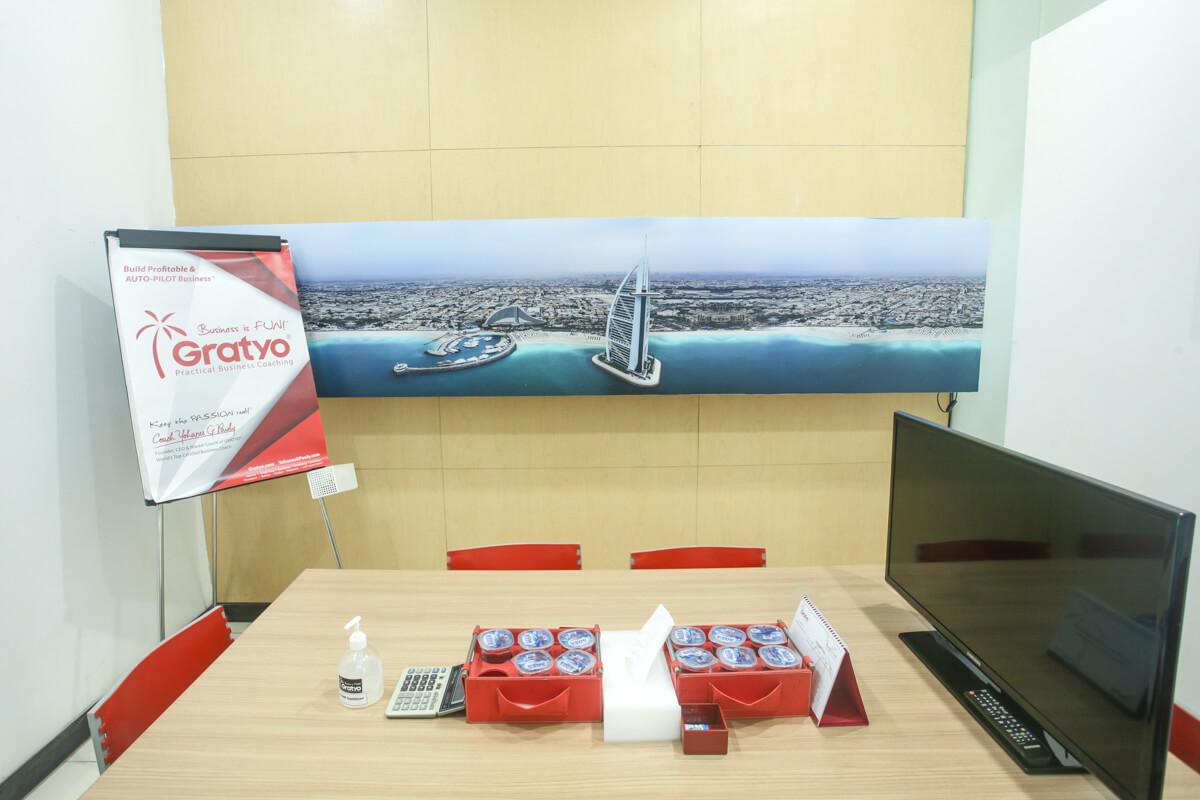 Sewa Coworking Space di Kelapa Gading - Dubai Room - G-District