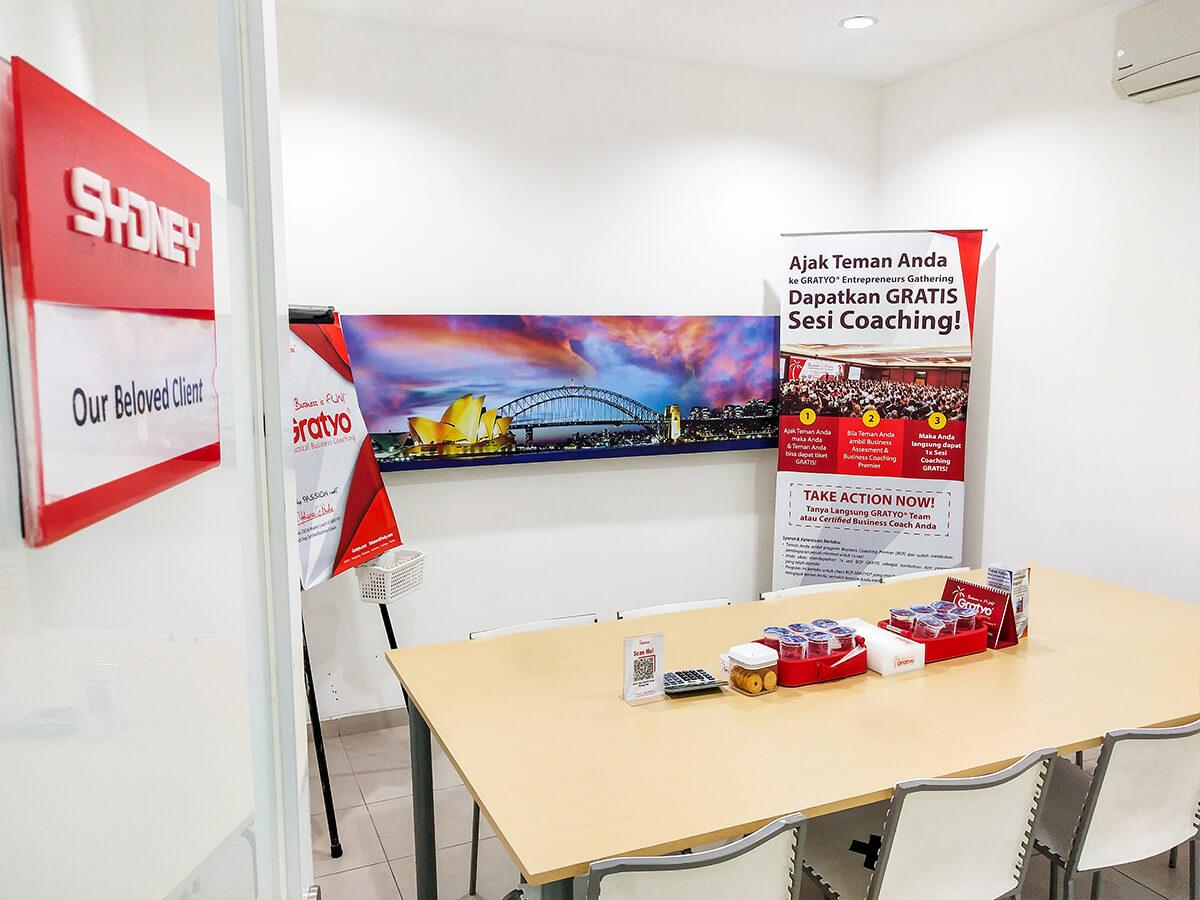 Sewa Coworking Space di Tangerang - Sydney Room - G-district