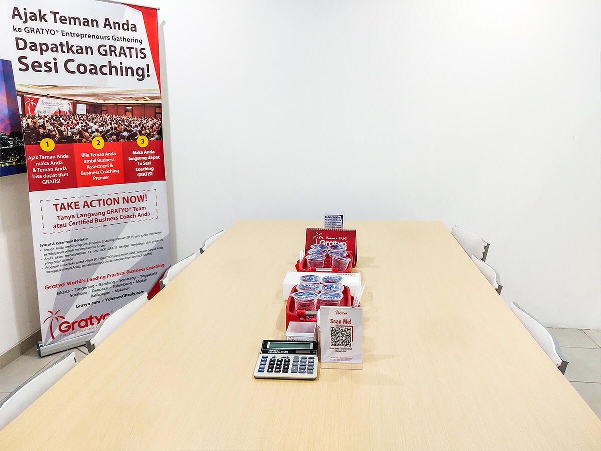 Sewa Coworking Space atau Tempat Kerja di Tangerang - Sydney Room - G-district