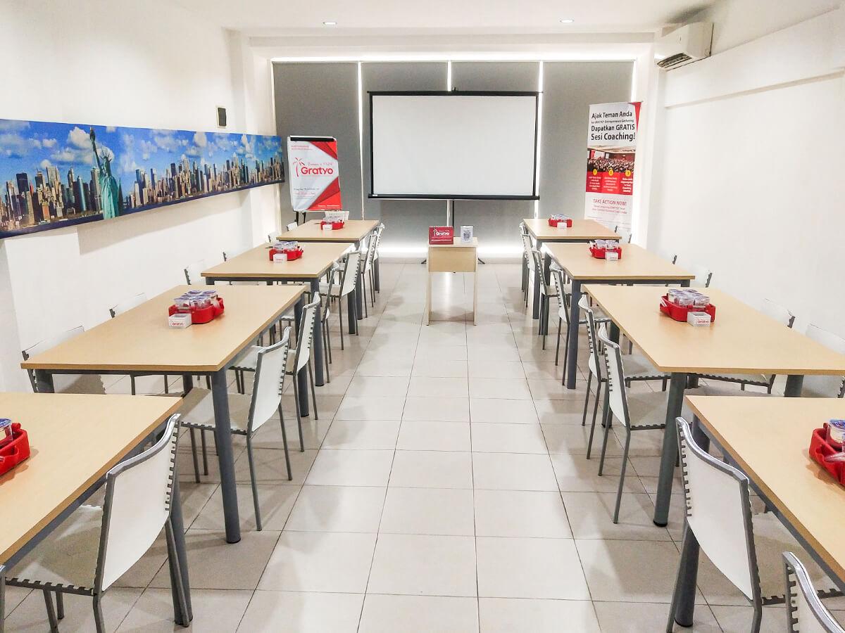Sewa Ruang Meeting di Alam Sutera Tangerang, Jawa Barat - New York Room - G-District