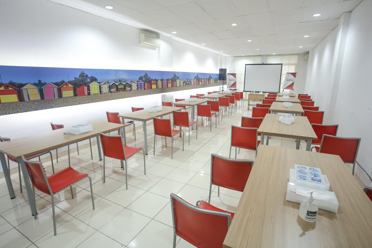 Sewa Ruang Meeting di Kelapa Gading - Melbourne Room - G-District