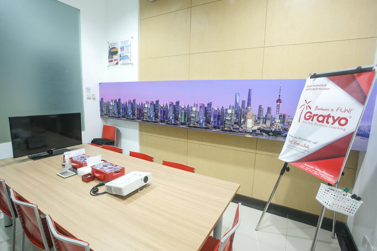Tempat Meeting di Kelapa Gading, Jakarta Utara - Shanghai Room - G-District
