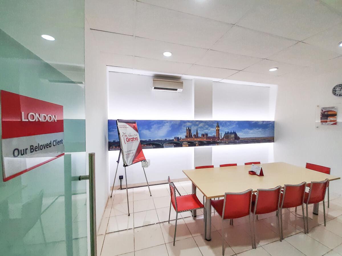 Tempat Meeting di Kelapa Gading - London Room - G-District