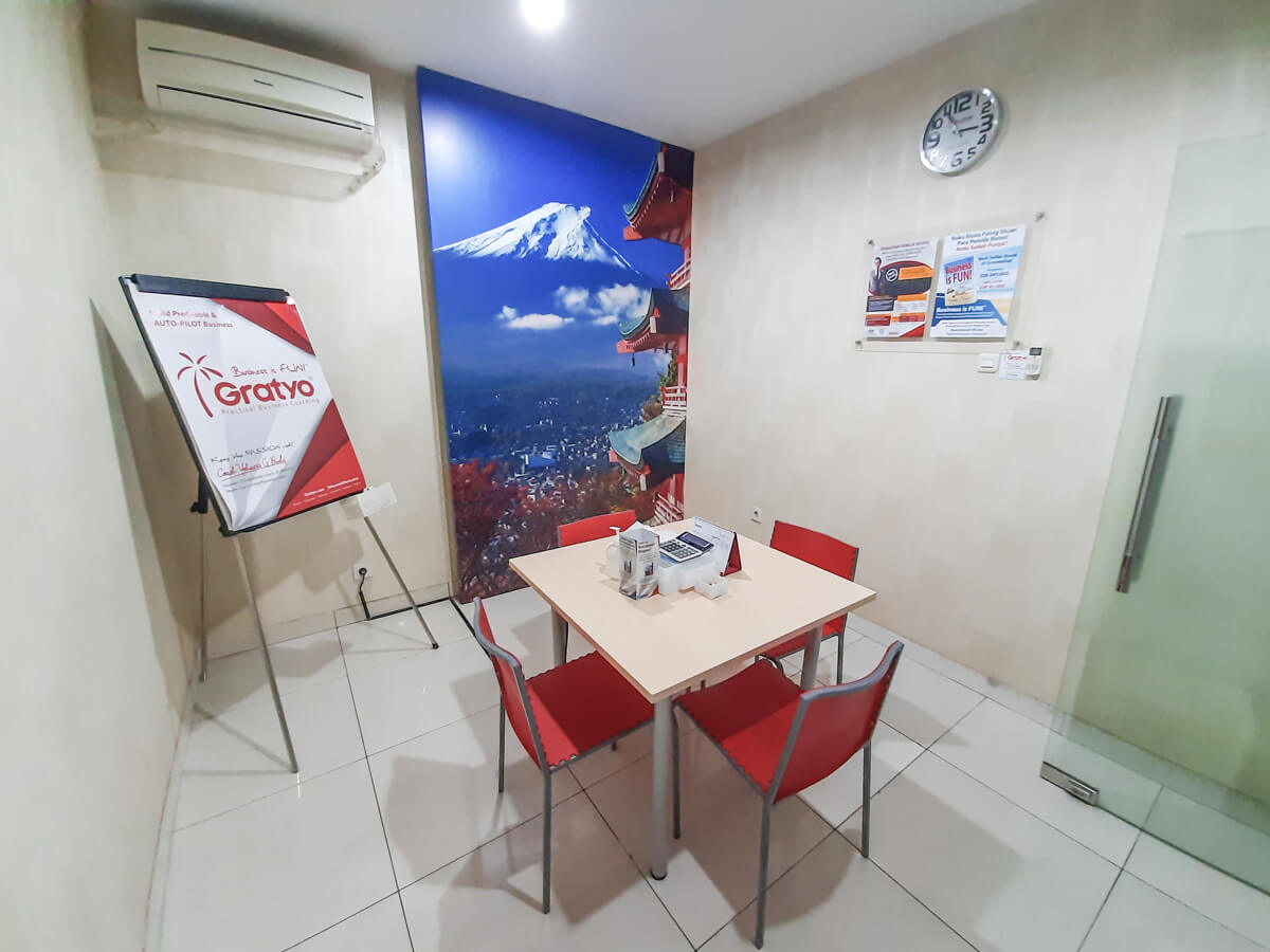 Sewa Coworking Space di Makassar - Tokyo Room - G-District
